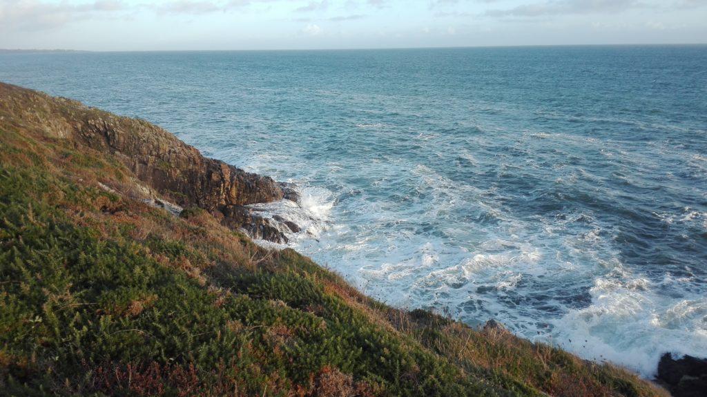 La mer depuis le sentier côtier