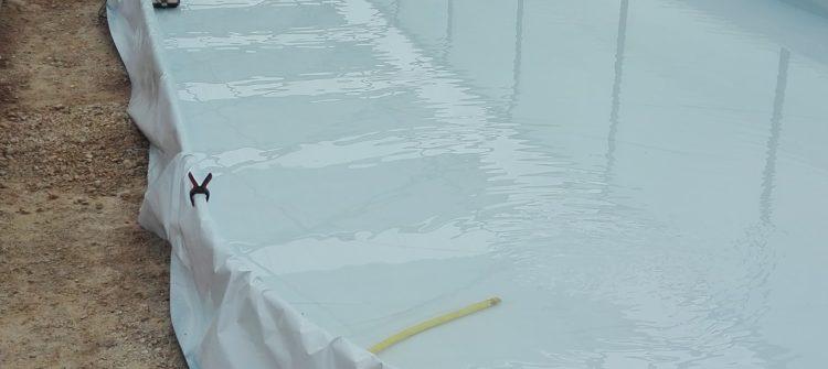 remplissage du bassin