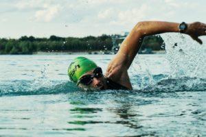 sportif, nageur